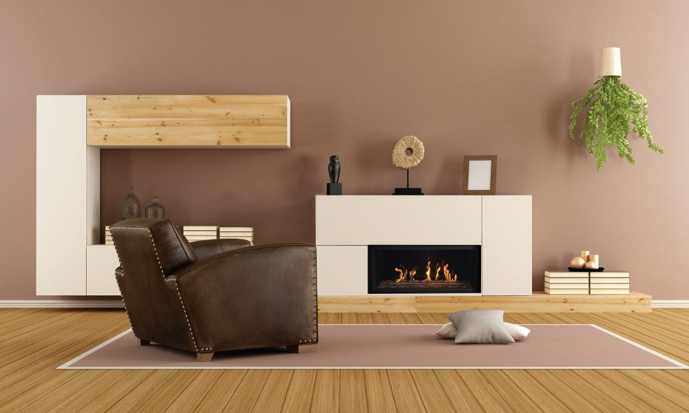 Savannah Heating e45 model gas fireplace