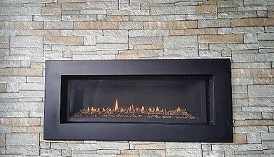 Phoenix Fireplaces gas insert fireplace