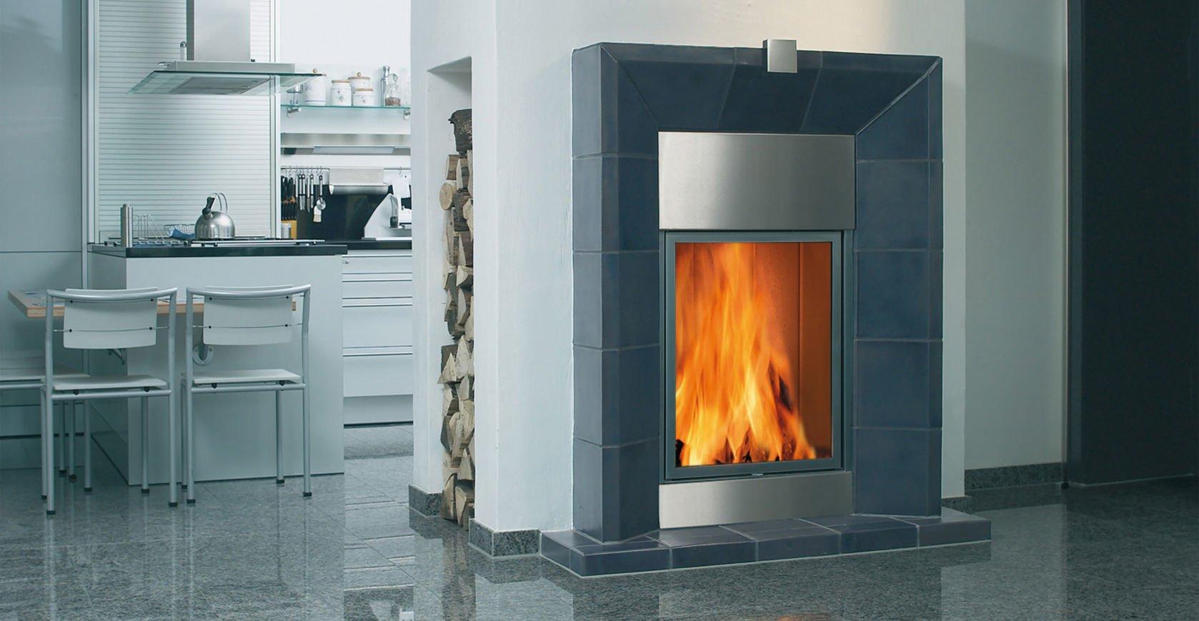 Spartherm Fire Company Arte Bh wood fireplace